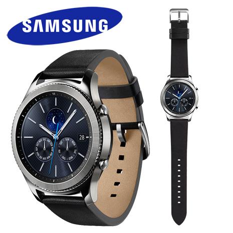 【12/1開賣】Samsung Gear S3 Classic 智慧型手錶 (皮錶帶)