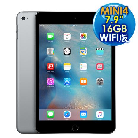 Apple iPad Mini 4 Wi-Fi 16GB 平板電腦【灰色】MK6J2TA/A