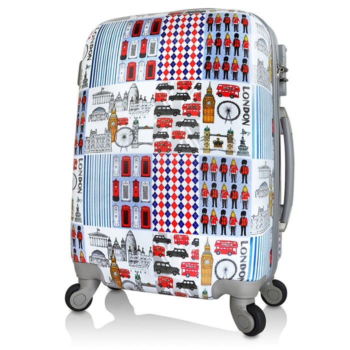 【AoXuan】翻玩倫敦20吋PC輕量耐摔行李箱/旅行箱/登機箱
