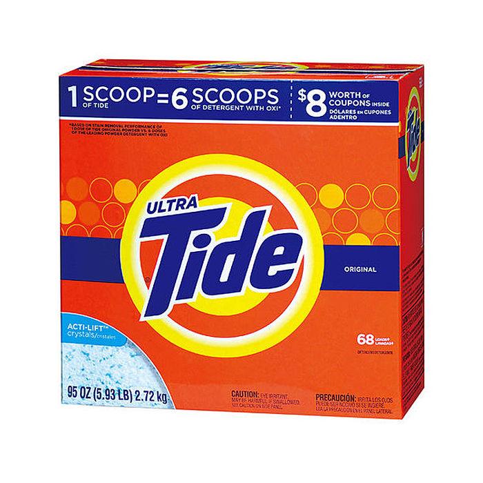 【汰漬 Tide】 超濃縮洗衣粉 2.72kg