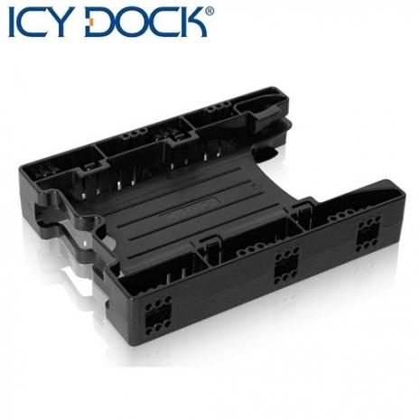 "ICY DOCK 精簡版 雙2.5"" SSD/HDD 套件/轉接架-MB290SP-B"