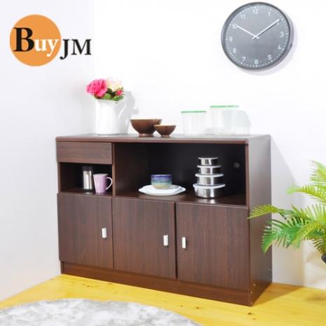 《BuyJM》威爾防潑水三門一抽廚房櫃/餐櫃/收納櫃