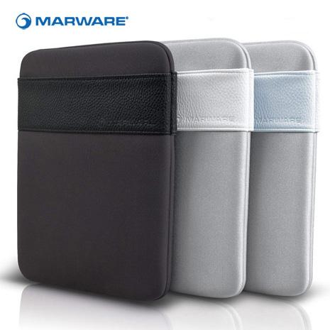 MARWARE iPad/iPad 2/New iPad 平板電腦隨行保護收納包-黑灰