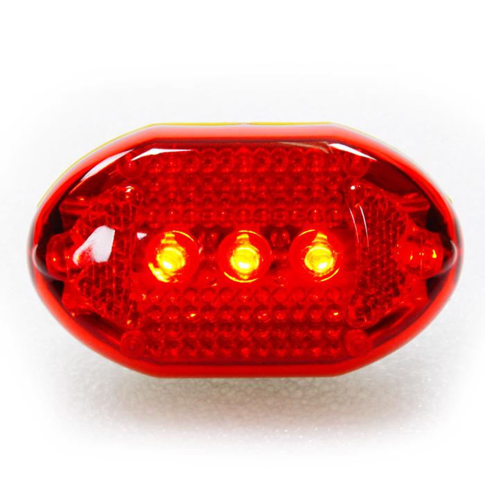 【S-SUN】經濟型環保自行車後燈 2128-10 (紅)