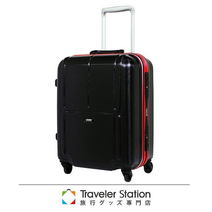 【日本Traveler Station】 19吋 PC 鋁框拉桿 超靜音輪 行李箱 -粉框