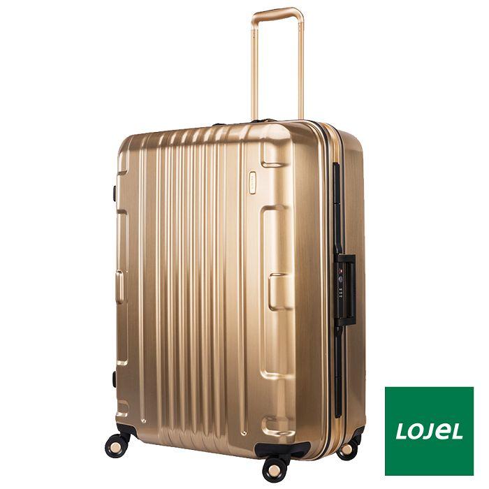 【日本 LOJEL】鎂合金 29吋 PC 輕量鎂拉桿 雙輪 輕量 行李箱 / 旅行 - 黃金色鎂合金