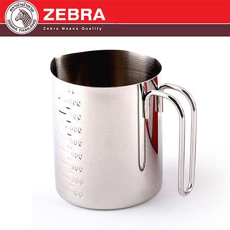 【斑馬ZEBRA】頂級#304不鏽鋼廚房烹調量杯800ml