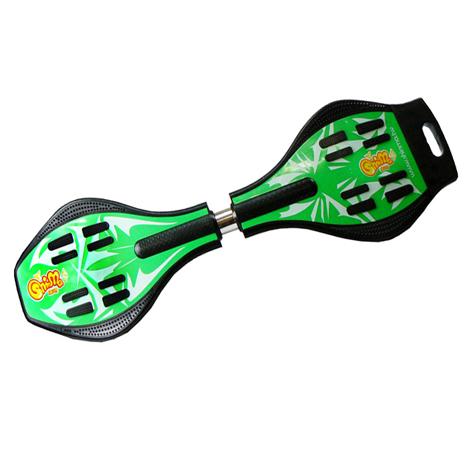 【鑫瑪SHINMA】蛇板(Snake Board)-ABS基礎板-單純綠