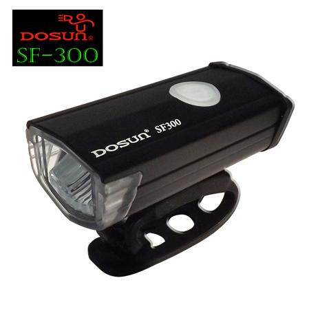 DOSUN SF-300 高亮度自行車前燈 (黑)