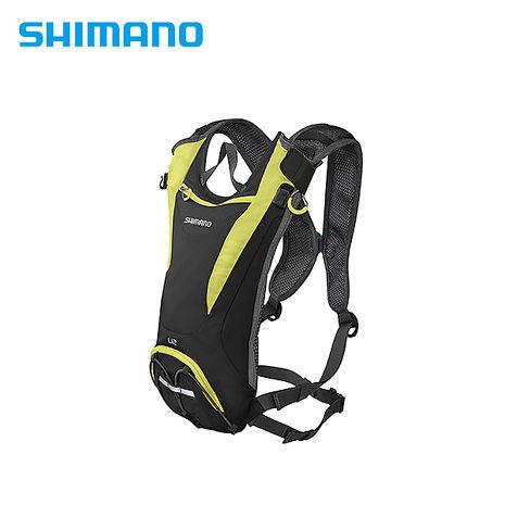 SHIMANO UNZEN 登山車背包 無水袋 2L 萊姆黃