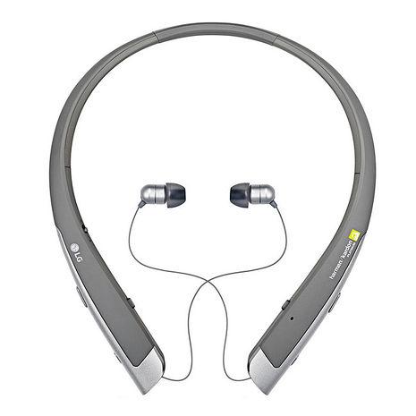 LG TONE Platinum HBS-1100原廠 頂級音質無線藍牙耳機 ( 銀 )
