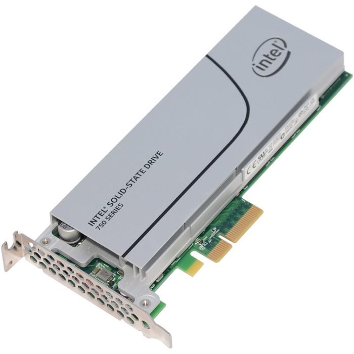 Intel 750 系列 400G PCIe 3.0 x4 [ NVMe ] SSD 固態硬碟