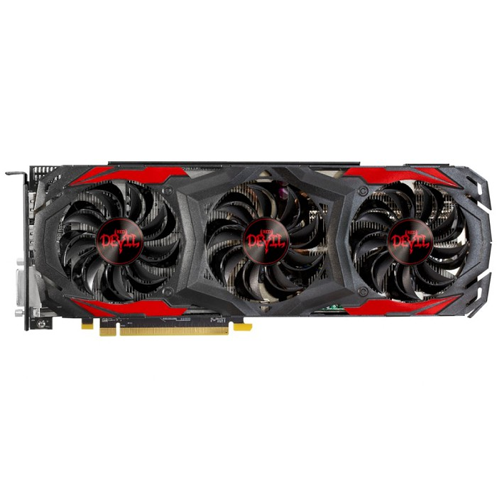 PowerColor 撼訊 (AXRX 480 8GBD5-3DH/OC) RX 480 8GB GDDR5 RedDevil PCI-E 介面顯示卡