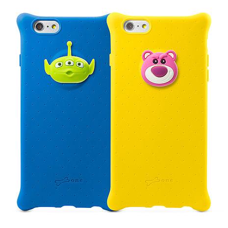 Bone / Toy Story iPhone 6 Plus泡泡保護套 -熊抱哥/三眼外星人