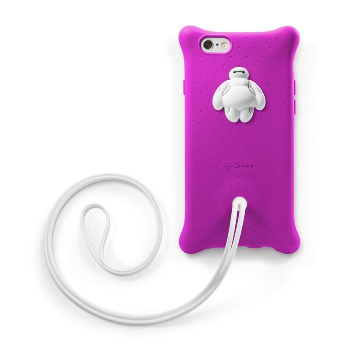 Bone  iPhone 6 / 6S泡泡頸掛保護套-杯麵