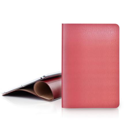 EVOUNI iPad Air 弧_美型超薄皮套 - 桃紅