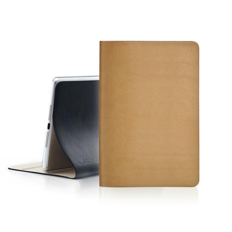 EVOUNI iPad Mini Retina 弧_美型超薄皮套 - 原皮色