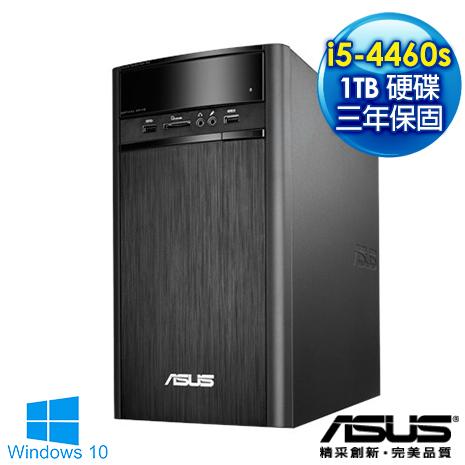 【獨家送高音質喇叭加碼再送USB無線網卡及清潔組】ASUS華碩 K31AD i5-4460s《永晝傳說》四核心1TB高儲存 燒錄效能WIN 10電腦(0071A446UMT)