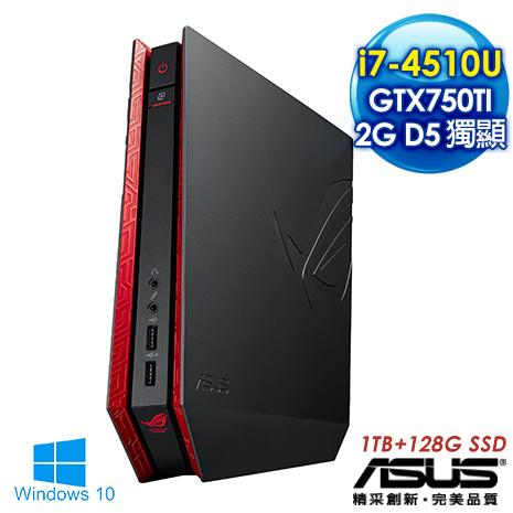 【獨家送高音質喇叭及清潔組】ASUS華碩 GR8 i7-4510U 雙核心《決勝星際》128G SSD混碟 2G獨顯Win10迷你電腦(4518LTE-GM)