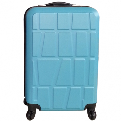 【RAIN DEER】*拚圖系列*18吋ABS輕硬殼行李箱(多色任選)