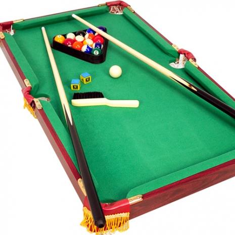 木製90X50桌上型撞球台