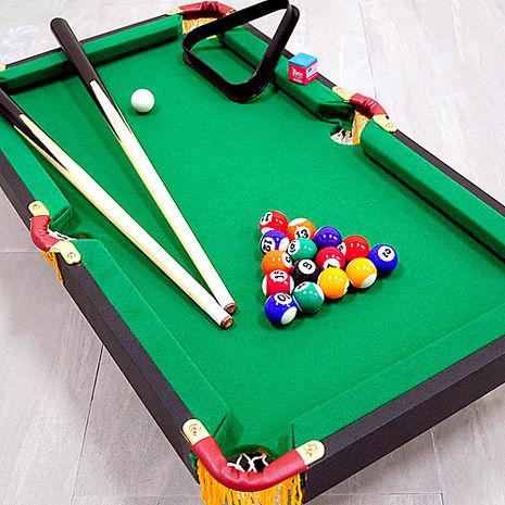 木製桌上型撞球台(內含完整配件)
