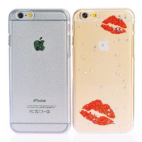 【ifive】iPhone 5/5S/6/6S/6plus/6Splus 自動修護TPU閃粉手機殼