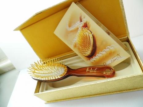 神奇黃金梳【小】純24K金. 圓形針梳設計 【小曼老師介紹】