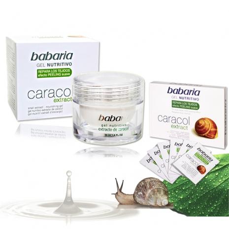 西班牙Babaria高含量蝸牛原液保濕活膚一入加贈組