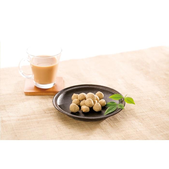 【日本京都百年老店】-黑豆粉酥脆米果球  3入組   77g 82