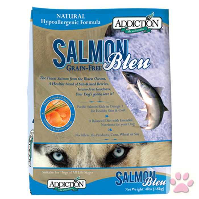 Addiction自然癮食-無穀藍鮭魚全犬寵食15kg