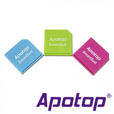 【APOTOP】SmartSuit 隨行轉卡(一組內含三個轉卡)