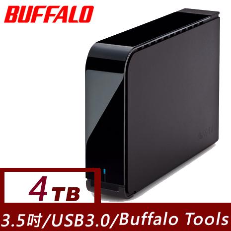 Buffalo 3.5吋LX系列4TB USB3.0 儲存大容量硬碟(7200轉)