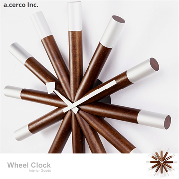 【a.cerco】舵輪掛鐘 Wheel Clock