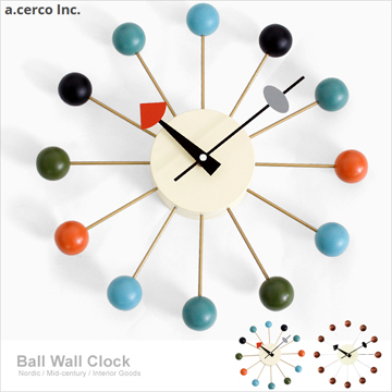 【a.cerco】經典彩球鐘 Ball Clock 炫彩-特賣