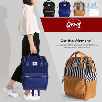 【GMT】挪威潮流品牌 大開口雙面料後背包 (藍色) /anello/hersche/nike/adidas