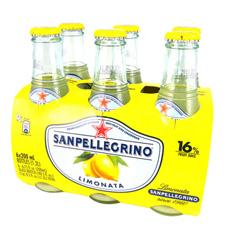 ^(活動^)S.Pellegrino 聖沛黎洛氣泡水果飲料~萊姆口味^(200mlx24入