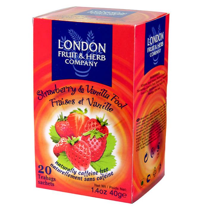 London Fruit & Herb 芙賀茶 草莓香草 (2gx20入)