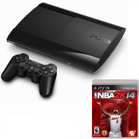 【SONY】PS3 250G '福利機'+ NBA 2K14
