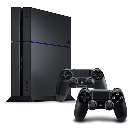 PS4 500G主機 CUH-1207 極致黑《雙手把組》贈:雙手把座充+手把類比套*2