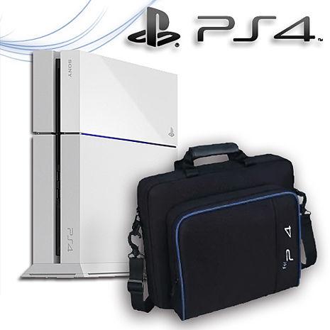 PS4 500G主機 CUH-1207 冰河白+大全配