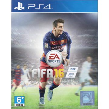 【PS4】國際足盟大賽FIFA 16(中英亞版)