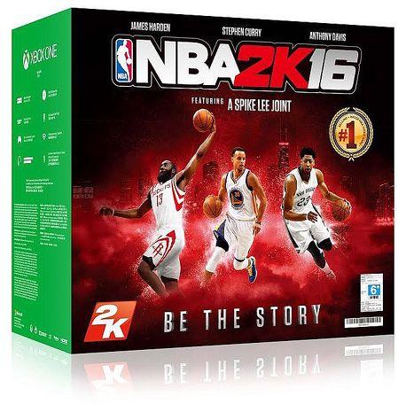 Xbox One 單機版NBA 2K16同捆組+看門狗