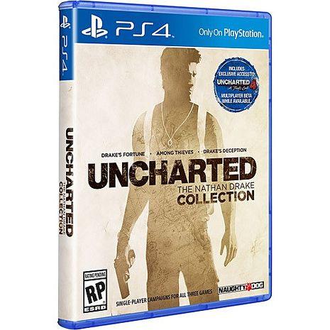 【遊戲特賣出清】PS4 秘境探險合輯《中文版》贈手把果凍套