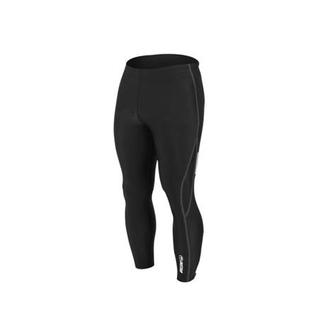 【INSTAR】起點 男女緊身長褲-台灣製 慢跑緊身褲 路跑 籃球內搭褲  黑