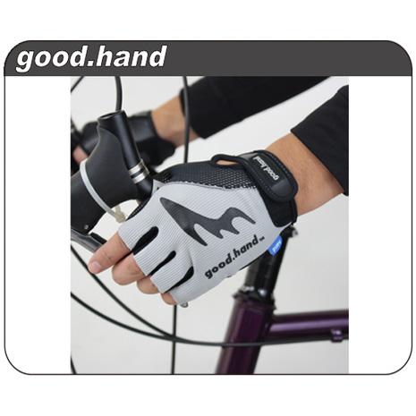 【GOODHAND】手套工廠-台灣加油~公路車專用手套-自行車 單車 腳踏車  灰