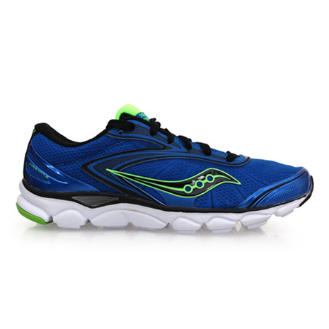 【SAUCONY】VIRRATA 2 男慢跑鞋-路跑 輕跑鞋 寶藍綠