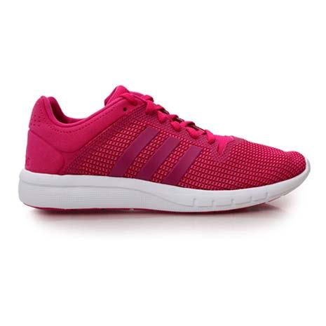 【ADIDAS】CC FRESH 2 W 女慢跑鞋- 路跑 健走 登山 桃紅白