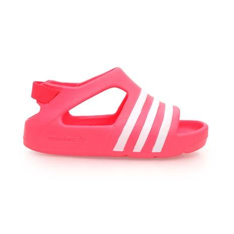 【ADIDAS】ORIGINALS ADILETTE PLAY I 女童鞋-涼鞋 愛迪達 粉白