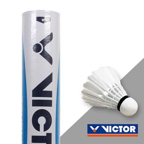 【VICTOR】實用級羽球-勝利 羽球 12入 水藍標